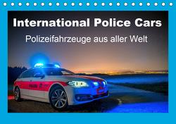 International Police Cars, Polizeifahrzeuge aus aller Welt (Tischkalender 2021 DIN A5 quer) von u.a.,  KPH