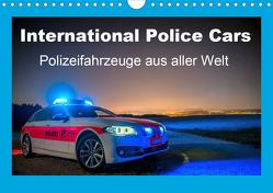 International Police Cars, Polizeifahrzeuge aus aller Welt (Wandkalender 2020 DIN A4 quer) von u.a.,  KPH