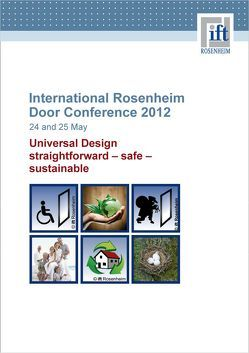 International Rosenheim Door Conference 2012 von ift Rosenheim GmbH