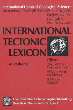 International Tectonic Lexicon von Dennis,  J G, Murawski,  H, Weber,  K.