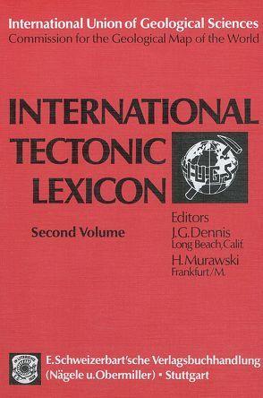 International Tectonic Lexicon von Dennis,  J G, Murawski,  H