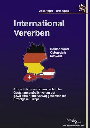 International Vererben Deutschland Österreich Schweiz von Appel,  Jost, Appel,  Urte