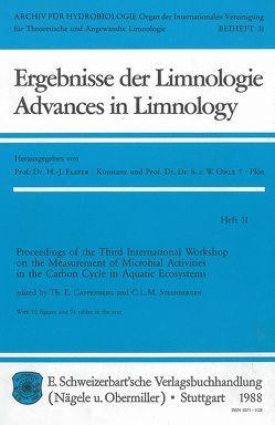 International Workshop on the Measurement of Microbial Activities… von Cappenberg,  Th E, Steenbergen,  C L