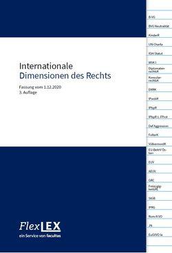 Internationale Dimensionen des Rechts