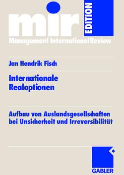 Internationale Realoptionen von Fisch,  Jan Hendrik