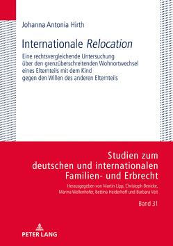 Internationale «Relocation» von Hirth,  Johanna Antonia