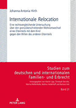 Internationale «Relocation» von Hirth,  Johanna Antonia