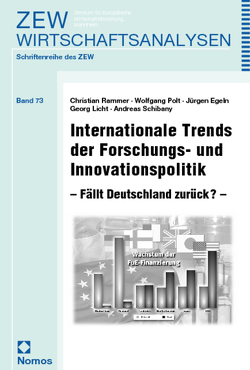Internationale Trends der Forschungs- und Innovationspolitik von Egeln,  Jürgen, Licht,  Georg, Polt,  Wolfgang, Rammer,  Christian, Schibany,  Andreas