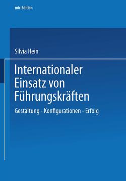 Internationaler Einsatz von Führungskräften von Hein,  Silvia