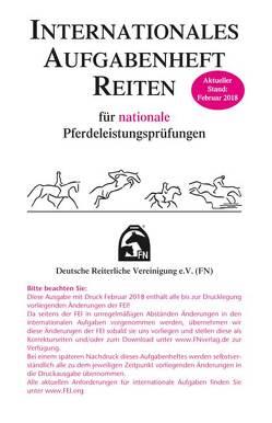 Internationales Aufgabenheft Reiten für nationale Pferdeleistungsprüfungen – Inhalt