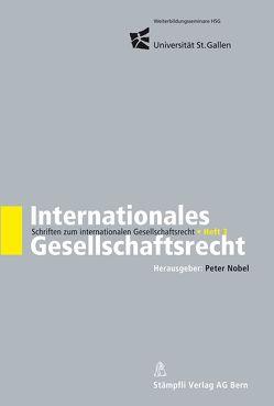 Internationales Gesellschaftsrecht von Nobel,  Peter