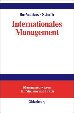 Internationales Management von Barsauskas,  Petras, Schafir,  Schlomo