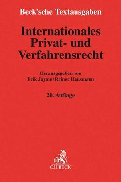 Internationales Privat- und Verfahrensrecht von Hausmann,  Rainer, Jayme,  Erik
