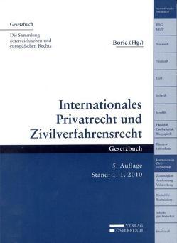 Internationales Privatrecht und Zivilverfahrensrecht von Borić,  Tomislav