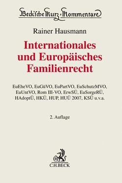 Internationales und Europäisches Familienrecht von Hausmann,  Rainer
