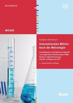 Internationales Wörterbuch der Metrologie – Buch mit E-Book von Brinkmann,  Burghart