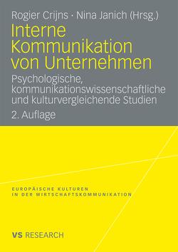 Interne Kommunikation von Unternehmen von Crijns,  Rogier, Janich,  Nina