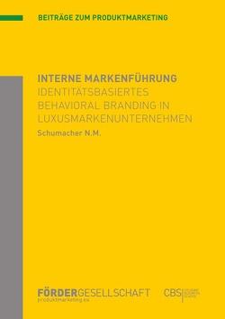 Interne Markenführung von Schumacher,  Nadine Maren
