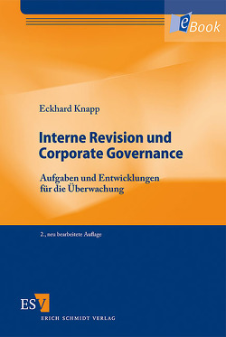 Interne Revision und Corporate Governance von Knapp,  Eckhard