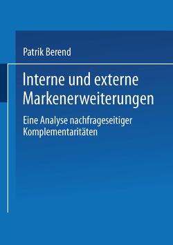 Interne und externe Markenerweiterungen von Berend,  Patrik