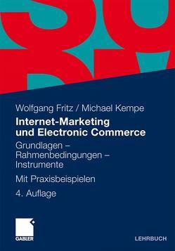 Internet-Marketing und Electronic Commerce von Fleer,  Jessica, Fritz,  Wolfgang, Robra-Bissantz,  Susanne