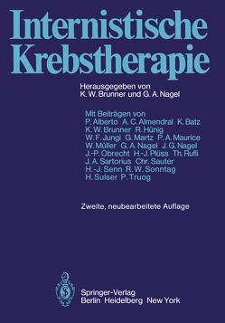 Internistische Krebstherapie von Alberto,  P., Brunner,  K.W., Nagel,  G.A.