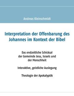 Interpretation der Offenbarung des Johannes im Kontext der Bibel von Kleinschmidt,  Andreas