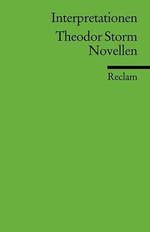 Interpretationen: Theodor Storm. Novellen von Deupmann,  Christoph