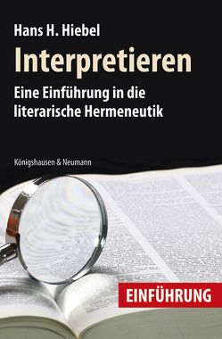 Interpretieren von Hiebel,  Hans H