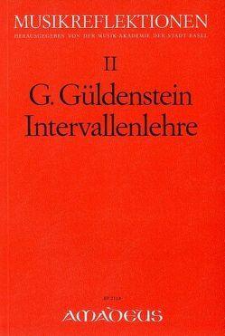 Intervallenlehre von Güldenstein,  Gustav