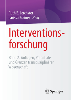 Interventionsforschung von Krainer,  Larissa, Lerchster,  Ruth E.