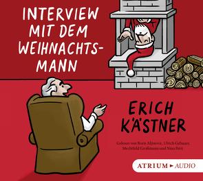 Interview mit dem Weihnachtsmann von Aljinovic,  Boris, Gebauer,  Ulrich, Großmann,  Mechthild, Kaestner,  Erich, List-Beisler,  Sylvia, Petri,  Nina