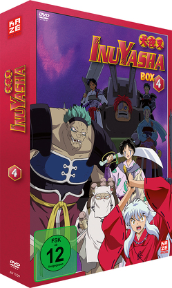 InuYasha – TV-Serie – DVD-Box 4 – New Edition von Abe,  Noriyuki