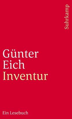 Inventur von Eich,  Günter, Müller-Hanpft,  Susanne