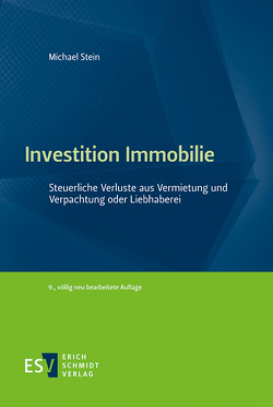 Investition Immobilie von Stein,  Michael