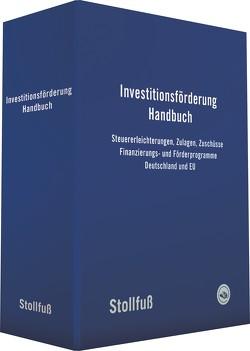 Investitionsförderung Handbuch von Rosarius,  Lothar, Sönksen,  Hansgeorg