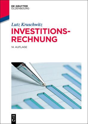 Investitionsrechnung von Kruschwitz,  Lutz