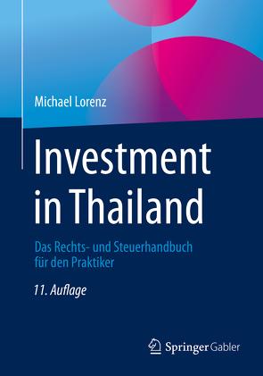 Investment in Thailand von Lorenz,  Michael