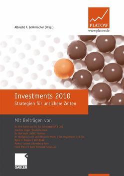 Investments 2010 von Schirmacher,  Albrecht F.