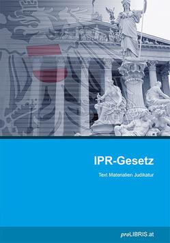 IPR-Gesetz von proLIBRIS VerlagsgesmbH
