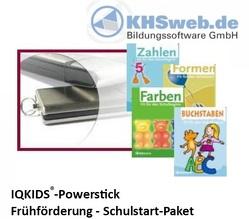 IQKids® Fit für den Schulstart – USB-Stick – Windows 10 / 8 / 7 / Vista / XP von Ballin,  Dieter, Myrenne-Ballin,  Doris