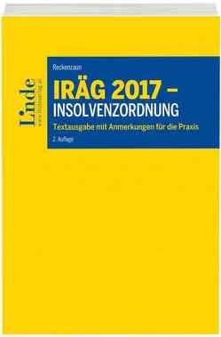 IRÄG 2017 – Insolvenzordnung von Reckenzaun,  Axel