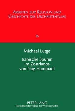 Iranische Spuren im Zostrianos von Nag Hammadi von Lütge,  Michael