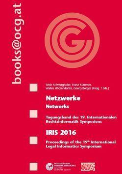 IRIS 2016 von Borges,  Georg, Hötzdendorfer,  Walter, Kummer,  Franz, Schweighofer,  Erich