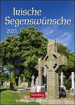 Irische Segenswünsche Kalender 2021 von Harenberg