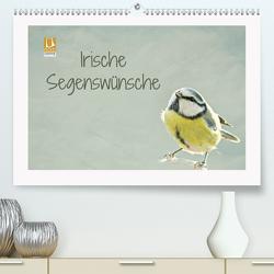 Irische Segenswünsche (Premium, hochwertiger DIN A2 Wandkalender 2021, Kunstdruck in Hochglanz) von Hultsch,  Heike
