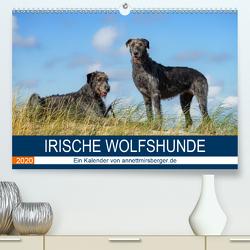Irische Wolfshunde (Premium, hochwertiger DIN A2 Wandkalender 2020, Kunstdruck in Hochglanz) von Mirsberger,  Annett, www.annettmirsberger.de