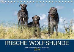 Irische Wolfshunde (Tischkalender 2019 DIN A5 quer) von Mirsberger,  Annett, www.tierpfoto.de