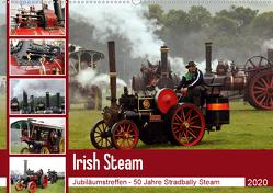 Irish Steam – 50. Dampftreffen in Stradbally (Wandkalender 2020 DIN A2 quer) von N.,  N.