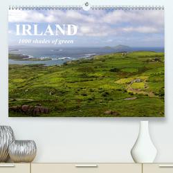 IRLAND. 1000 shades of green (Premium, hochwertiger DIN A2 Wandkalender 2020, Kunstdruck in Hochglanz) von Molitor,  Michael